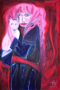 """Girl Holding Fox"" by Ingrid de Ridder"