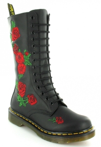 Red Roses Doc Martens